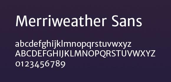 merriweather-sans
