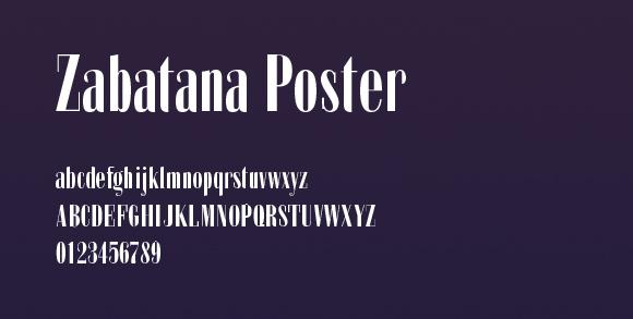 zabatana-poster