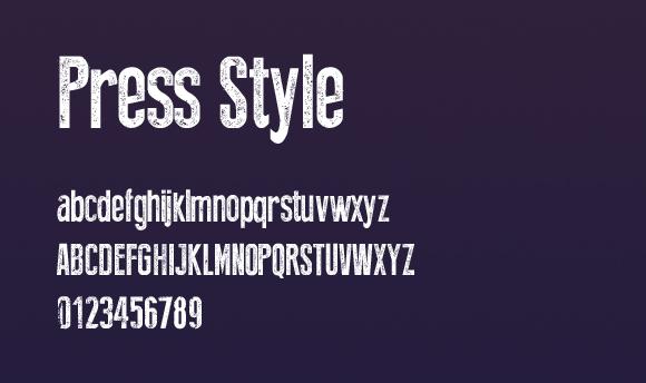 Press-Style